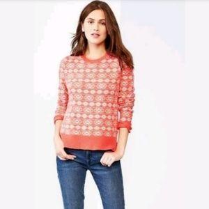 Gap NWT Fair Isle Sweater Size Small Wool Blend